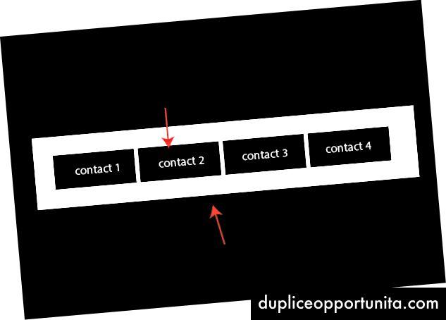 ネストされた連絡先を持つ巨大なユーザー配列