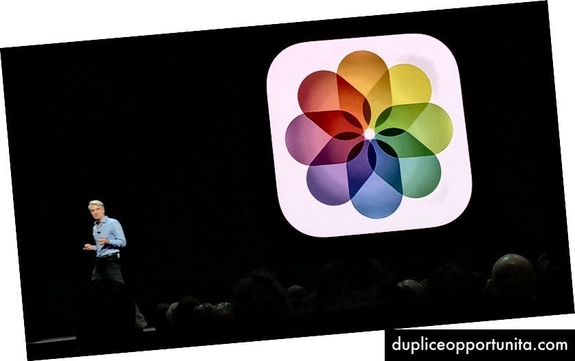 Apple SVP Craig Federighi esittelee päivitetyt valokuvat WWDC: ssä