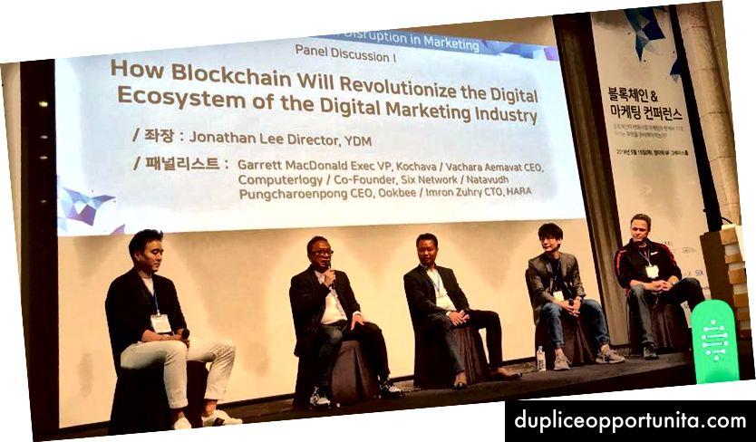 Imron Zuhri (CTO for HARA) delte, hvordan HARAs blockchain-baseret dataudveksling kan transformere måderne for produkter at nå ud til kunder i landdistrikter på