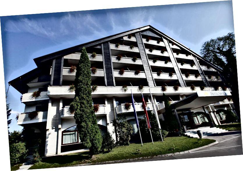 Hotel Savica Girişi