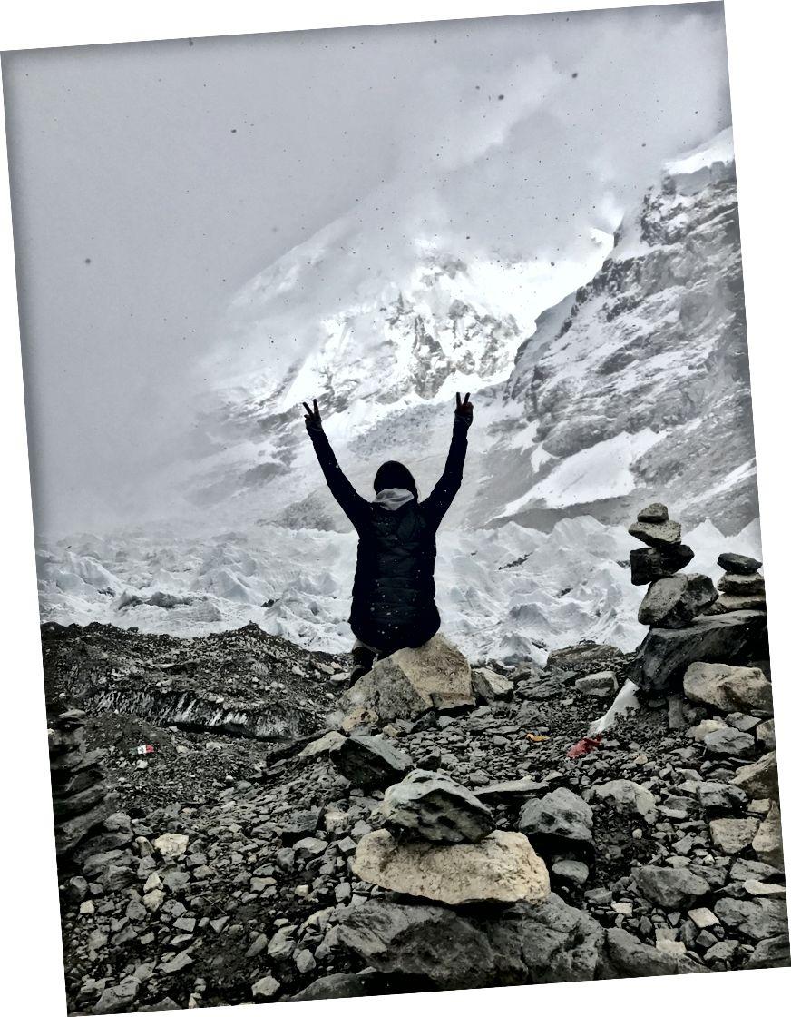Trại căn cứ Everest, 5364m, Nepal