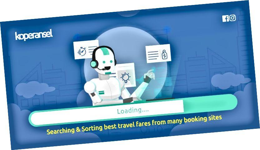 חברת חיפוש הנסיעות מבוסס אינדונזיה באינטרנט ויישומים, Koperansel