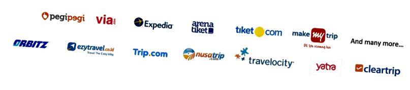 סוכנויות נסיעות מקוונות גלובליות ומקומיות