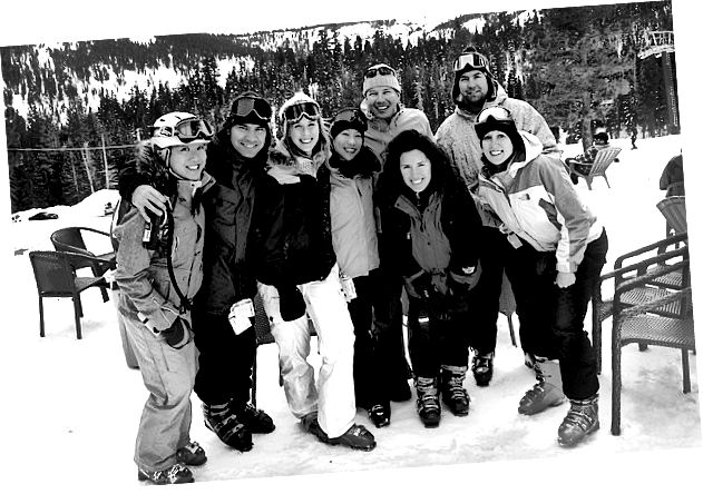 Prima di quest'anno, l'ultima volta che abbiamo avuto neve decente a Tahoe è stato il 2008 ...