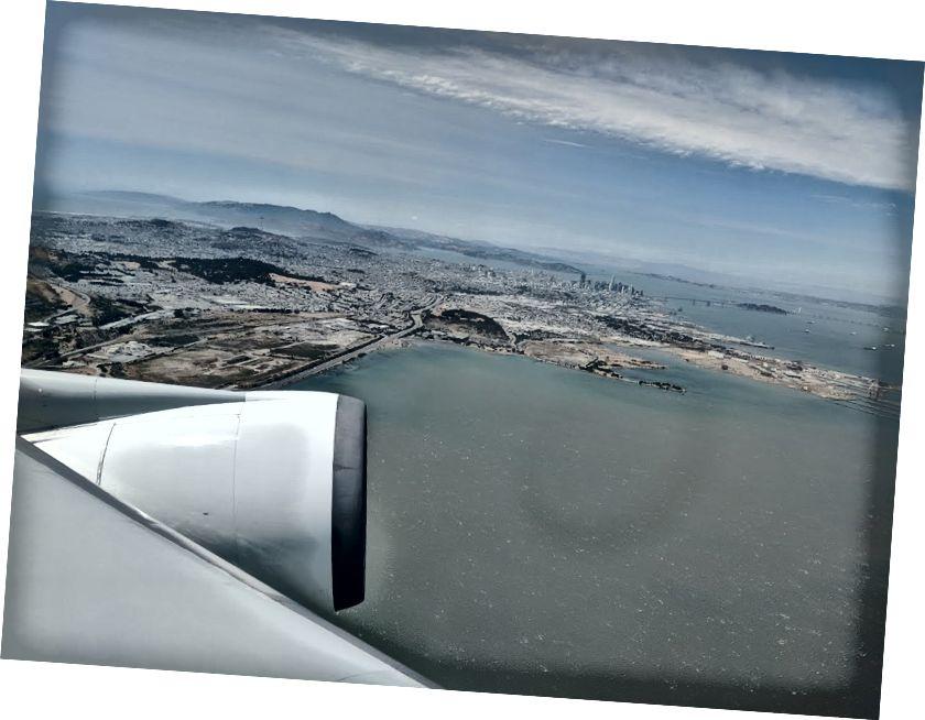 San Francisco khi nhìn từ máy bay