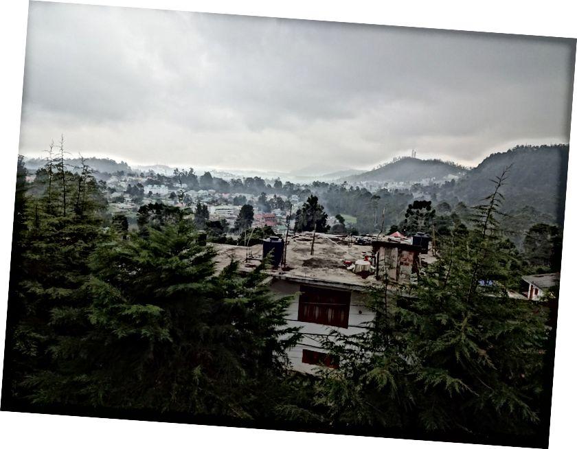 Вид з Panorama Accomodations Готель Балкон