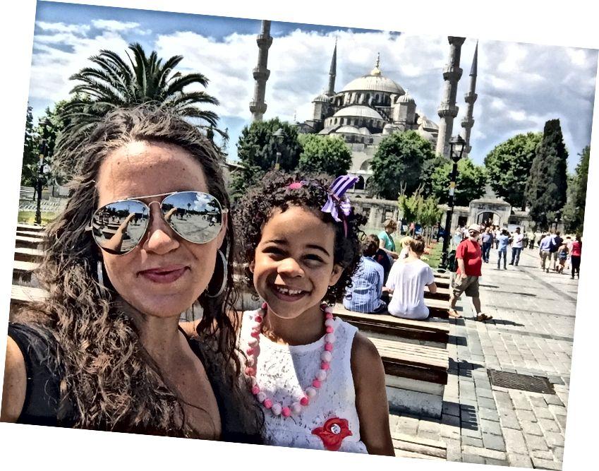 Yksi suosikkipaikoistamme maailmassa; Hagia Sofia Istanbulissa, Turkissa.