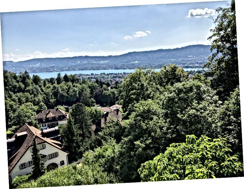 Цюрих, Швейцария. Фотография сделанная мной.