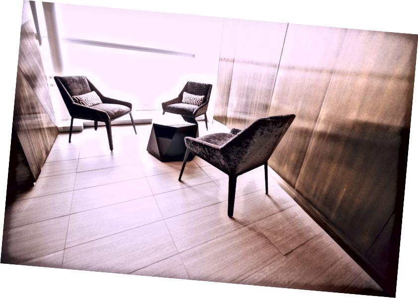 De nieuw geopende Etihad Lounge op JFK.