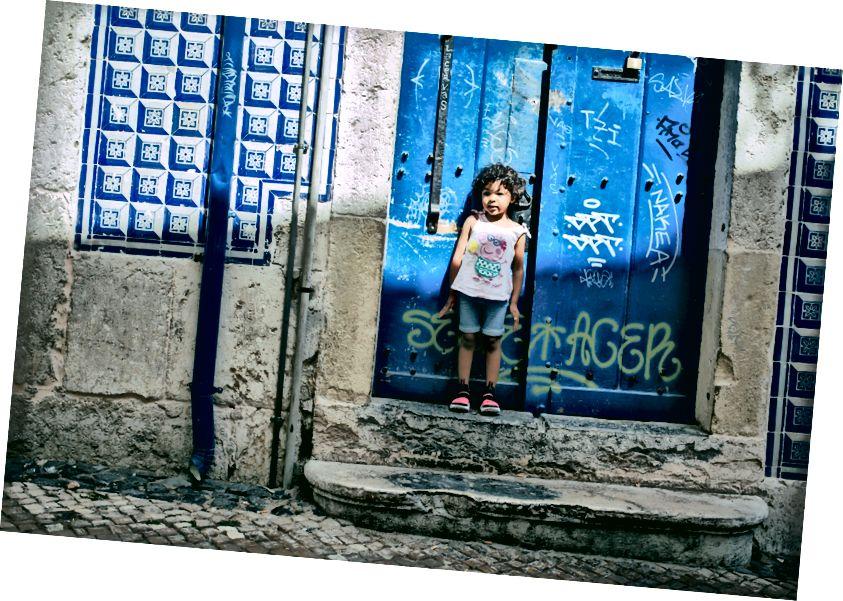 Graffiti tại Lisbon - Ảnh của Arthur Vallin Giám đốc sáng tạo HarleyandCompany