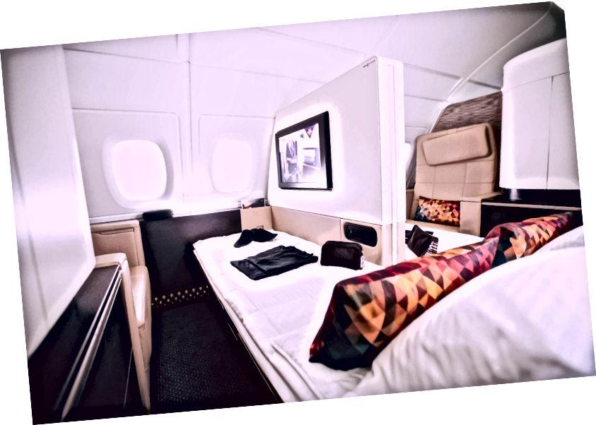 Appartementen veranderen in slaapkamers als u met uw partner reist.