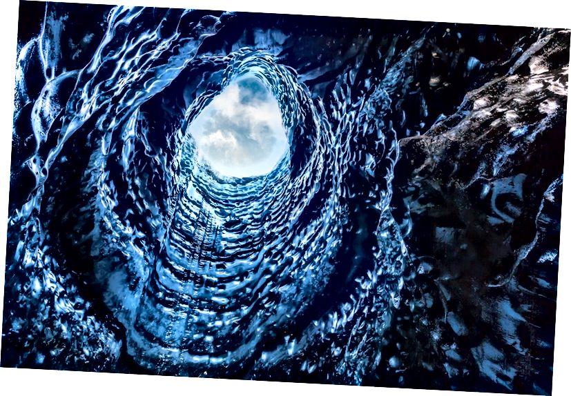 Katla Buz Mağarası, Kötlujökull Buzulu