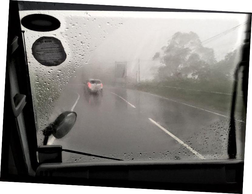По мокрій стежці до Хіккадуви