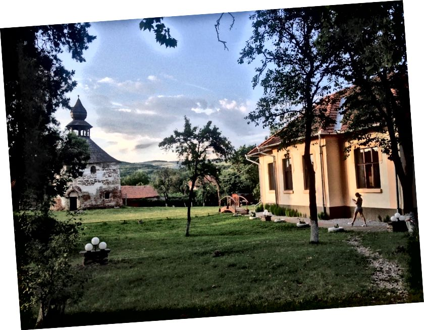 Geoagiu, Romanya kamp görünümü. (Temmuz 2015)