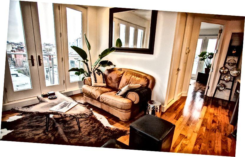 Dört kez taşındıktan sonra dördüncü New York dairem. (Williamsburg, Brooklyn)