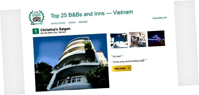 Agoda'nın yıkıcı müdahalesine rağmen Christina's, Vietnam'da 1. sırada yer alıyor, çünkü ekibimiz misafirlerimize özen gösteriyor.