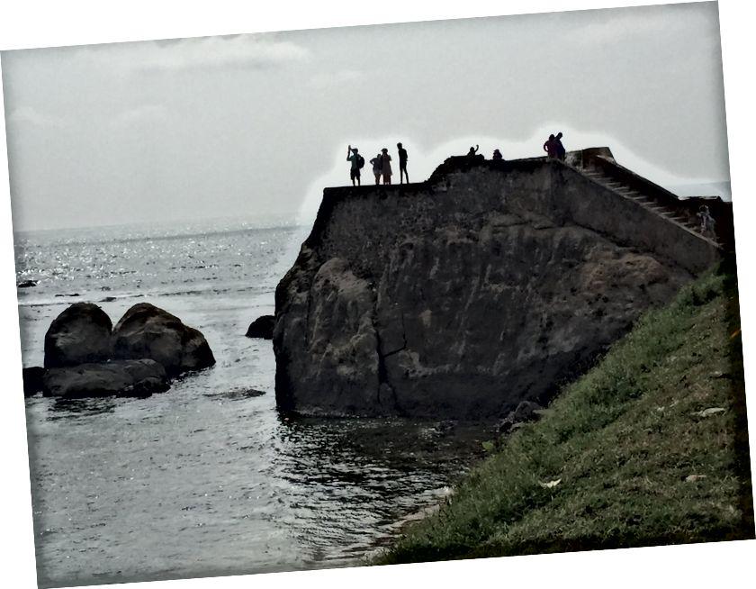 Один кінець форту Галле