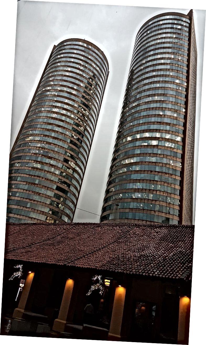 Вежі-близнюки (версія Шрі-Ланки). ПК: Сай