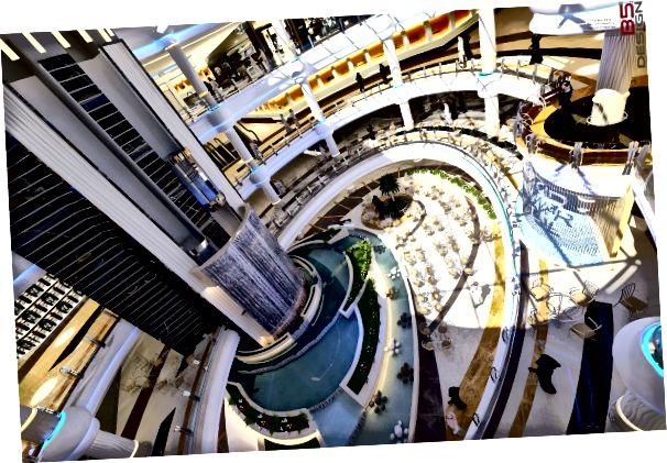 Một bản vẽ nội thất của Tawar Mall. Tín dụng: Trung tâm thương mại Tawar