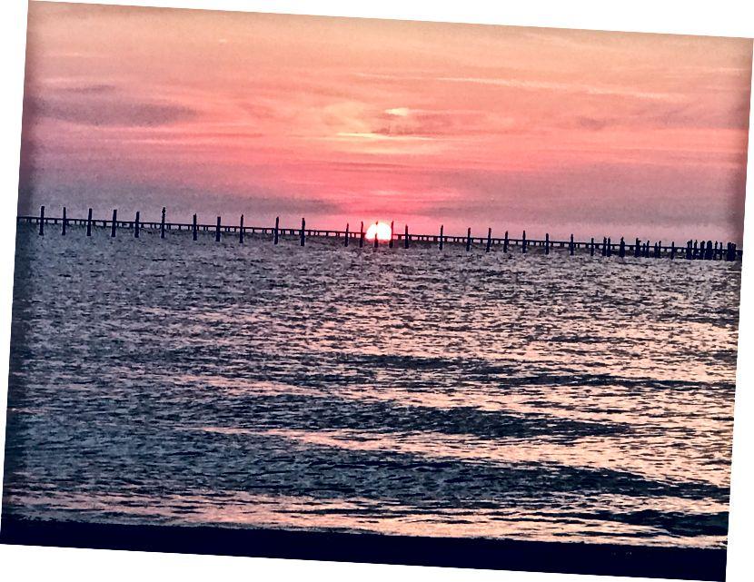 #nofilter #sunset # önce…. Bekle, bu Instagram değil!