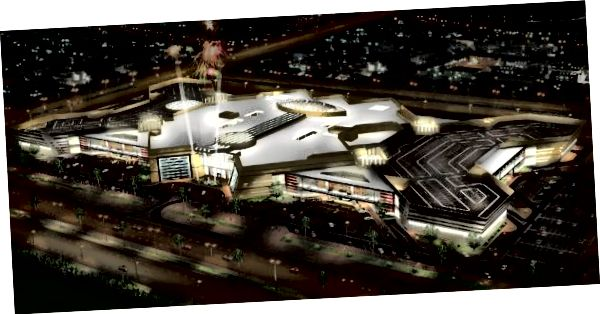 Rendering av Doha Mall. Kredit: Doha Mall