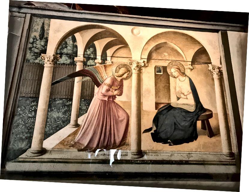Благовіщення в монастирі Сан-Марко. | Фото: К. Юнг