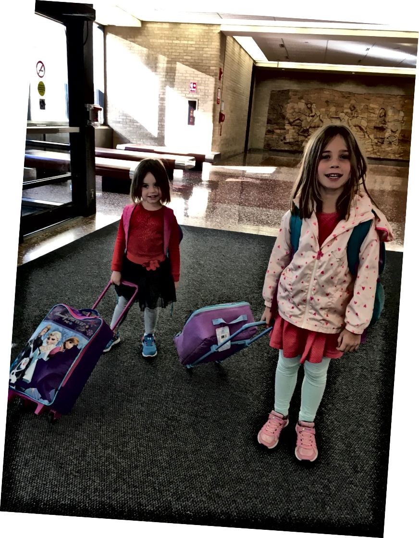 Урок про валізи малюка