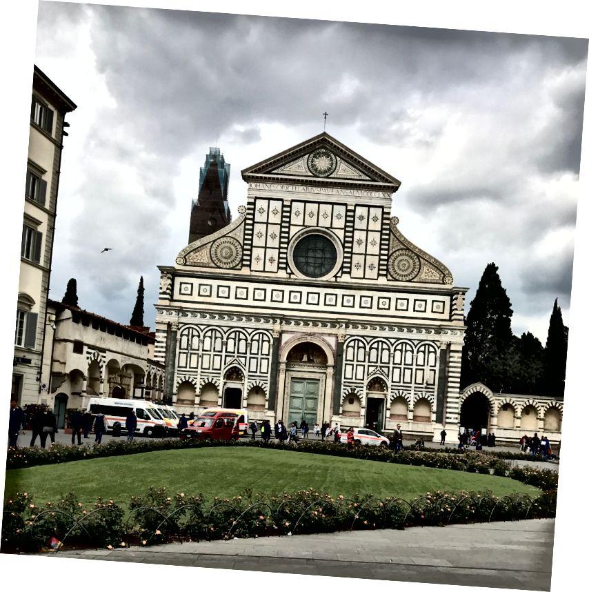 Церква Санта-Марія-Новелла у Флоренції. | Фото: К. Юнг