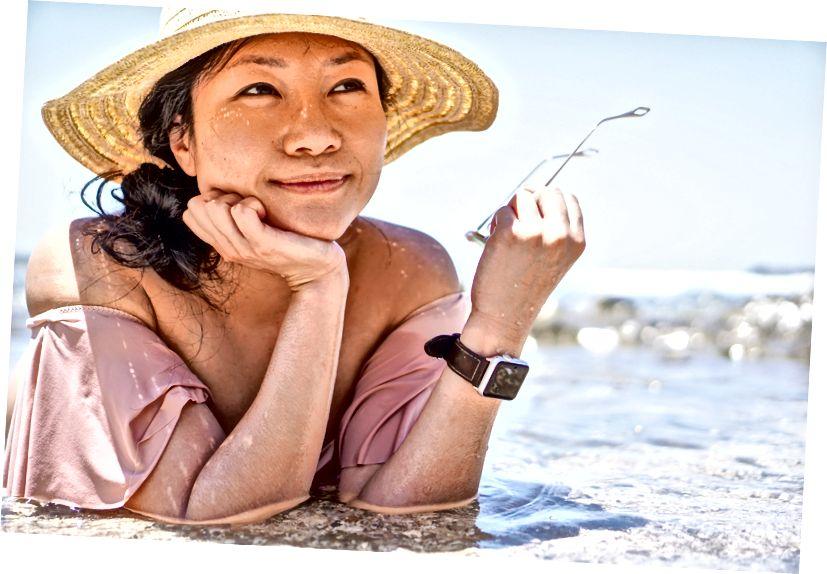 Cindy, Mal País, Kosta Rika'da bir gelgit havuzunda
