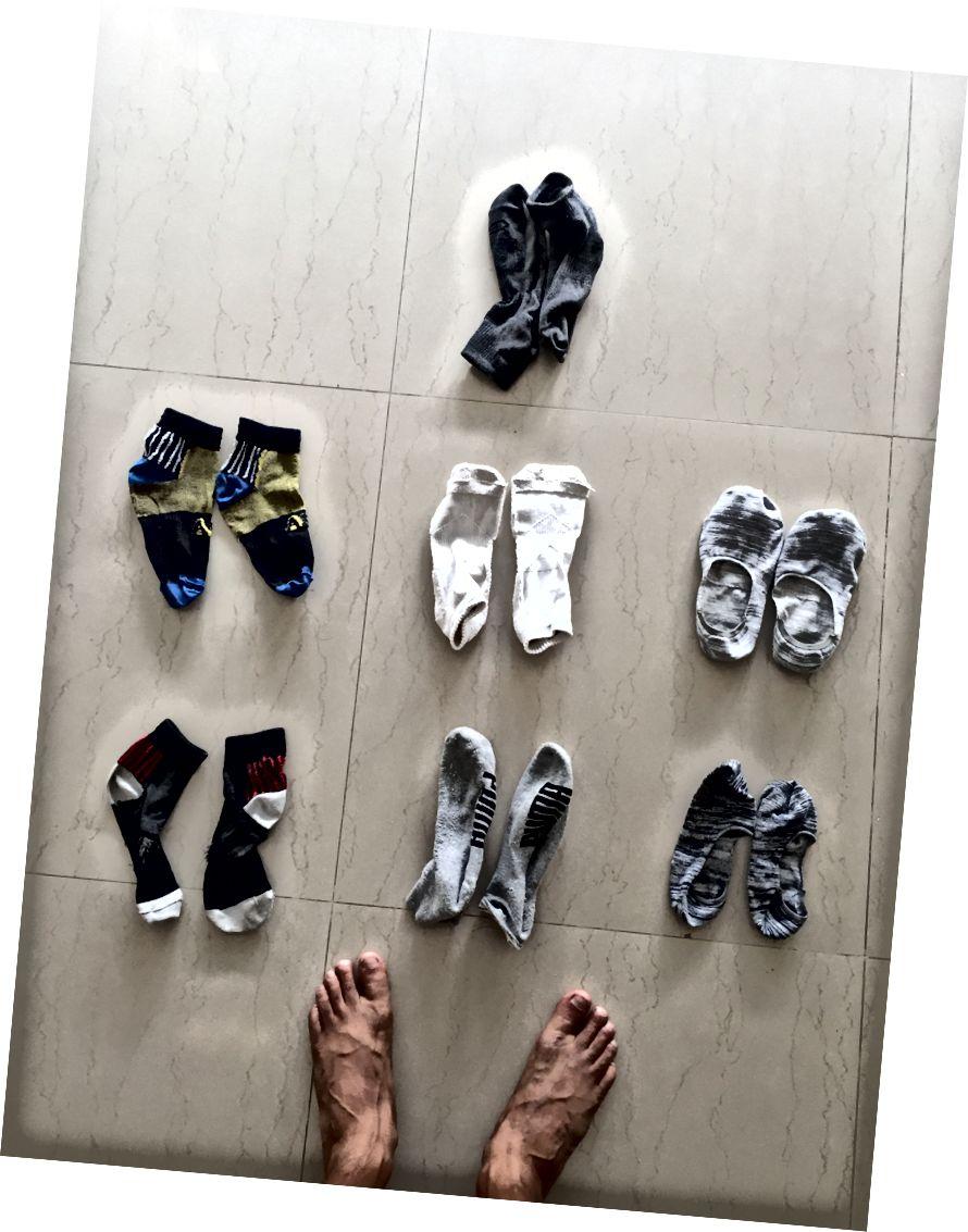 Kompaktné uteráky a boxerky Nabaiji Kalenji Bežecká bunda | ponožky