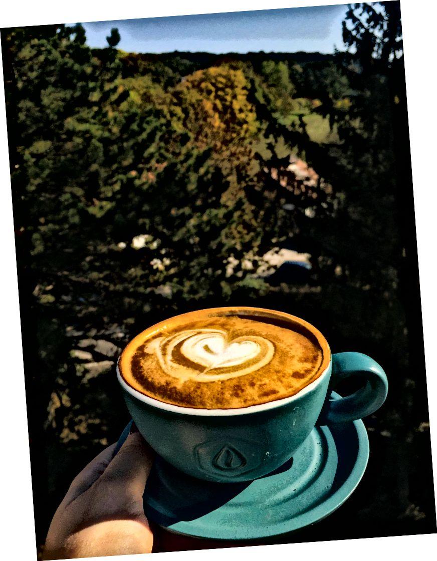 Чудова кава підлоги
