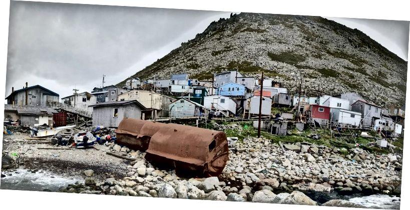 Küçük Diomede, Alaska. Fotoğraf: Will Jelbert