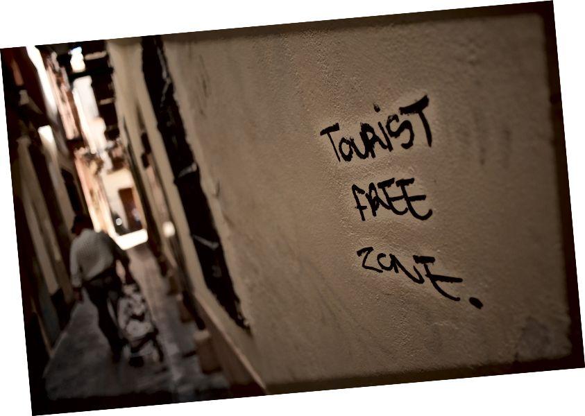 Malaga, İspanya bir duvar grafiti. Fotoğraf: Jesus Merida / SOPA Images / Getty Images aracılığıyla LightRocket