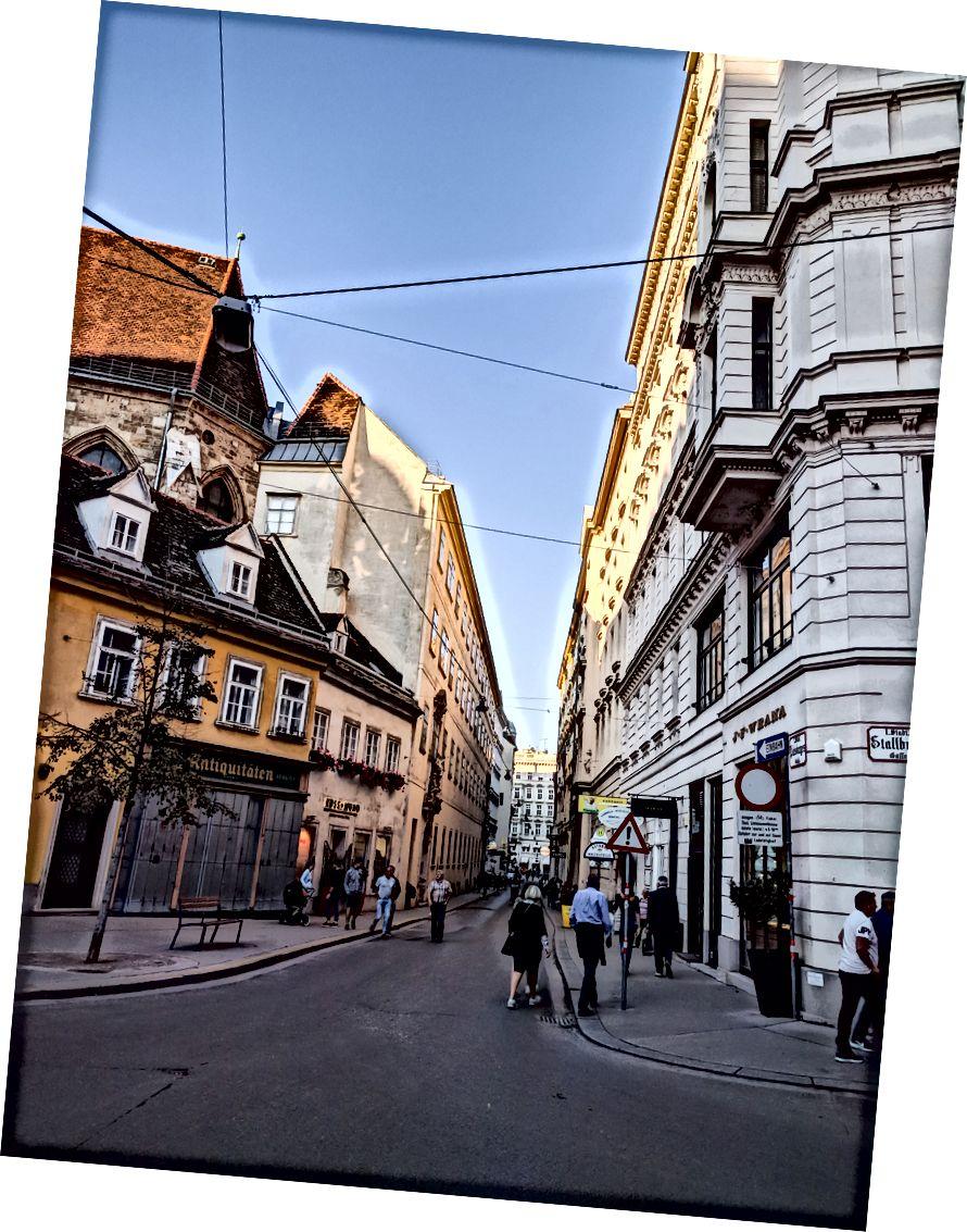 Вулиці Відня