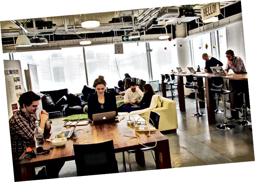Spolupracujúci priestor v Londýne