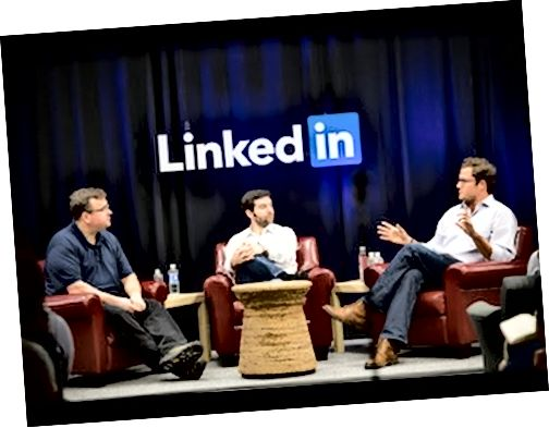 Série rečníkov LinkedIn: Jeff Weiner, Reid Hoffman a Ben Casnocha