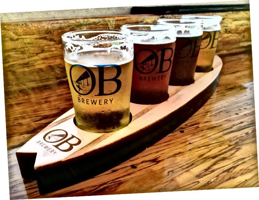 Політ пива пивоварні Ocean Beach