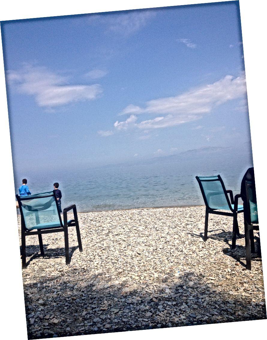 სამი თვე საბერძნეთში, 2017 წლის მარტი-მაისი.