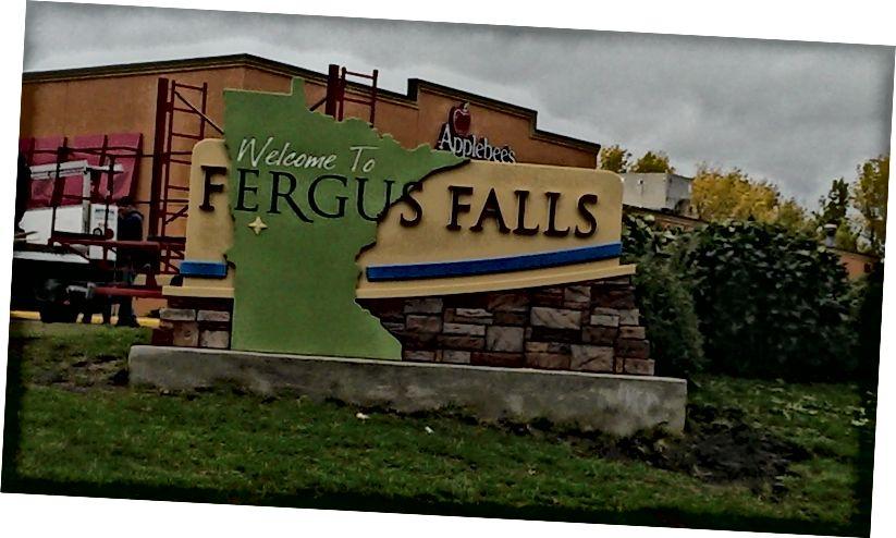 Fotoğraf: Tabelalar, Fergus Falls