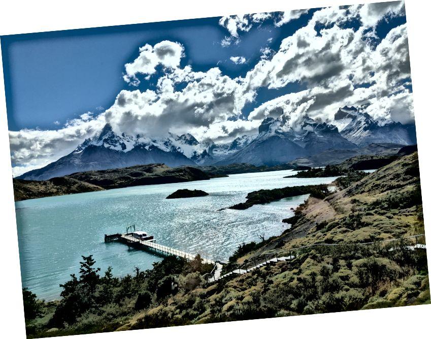 Pabatia'daki Torres del Paine, sabbatikalimin bir bölümünü geçirdim