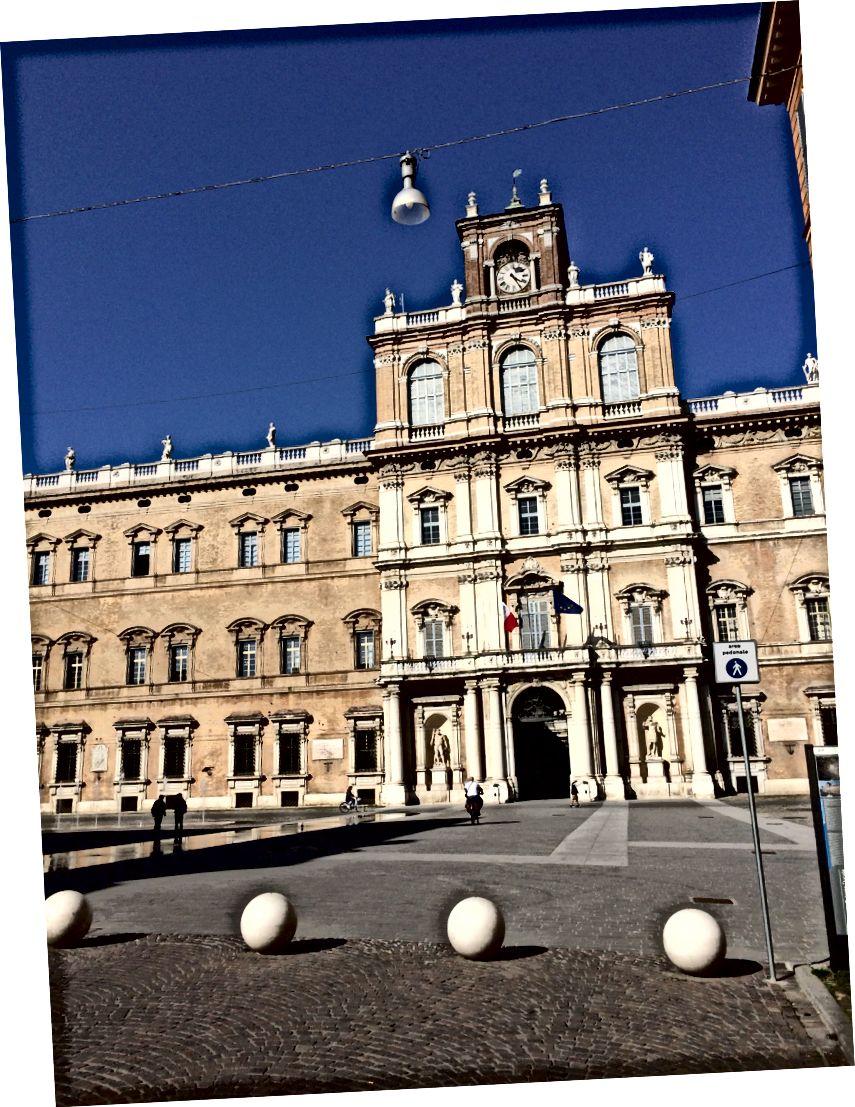 Modena - ağırlığının üstünde bir eyalet şehri