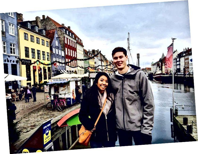 Đoàn tụ tại Nyhavn! Cảm ơn Madelein đã vui lòng thực hiện chuyến đi và dành thời gian cho tất cả bốn công việc của mình.