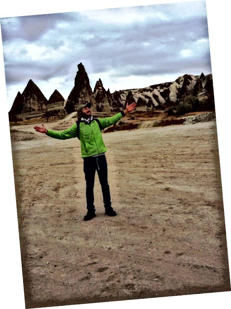 Andrés tại Thung lũng đỏ