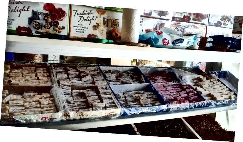 Cửa hàng Delight Thổ Nhĩ Kỳ ở Ürgüp