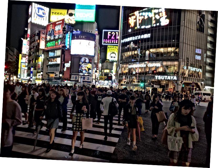 Переправа Шибуя в Токіо - найжвавіше перехрестя у світі