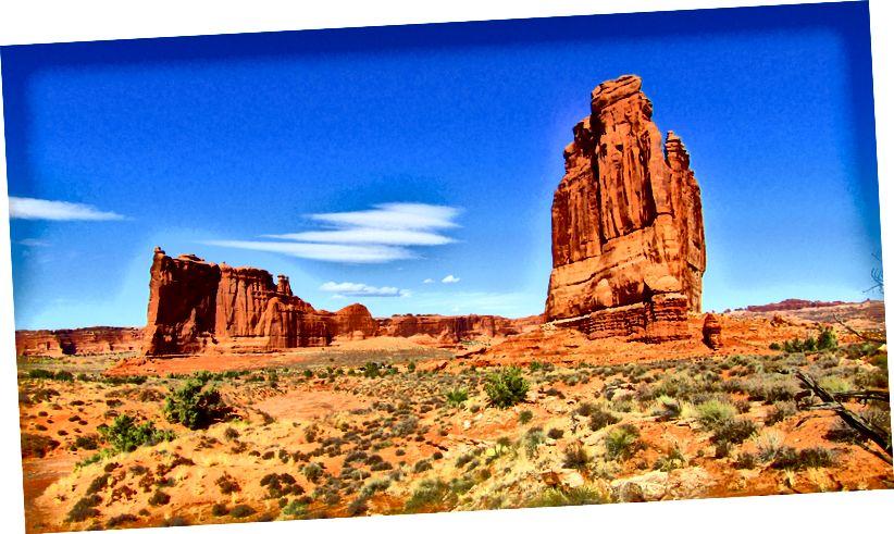 Công viên quốc gia Arches, UT