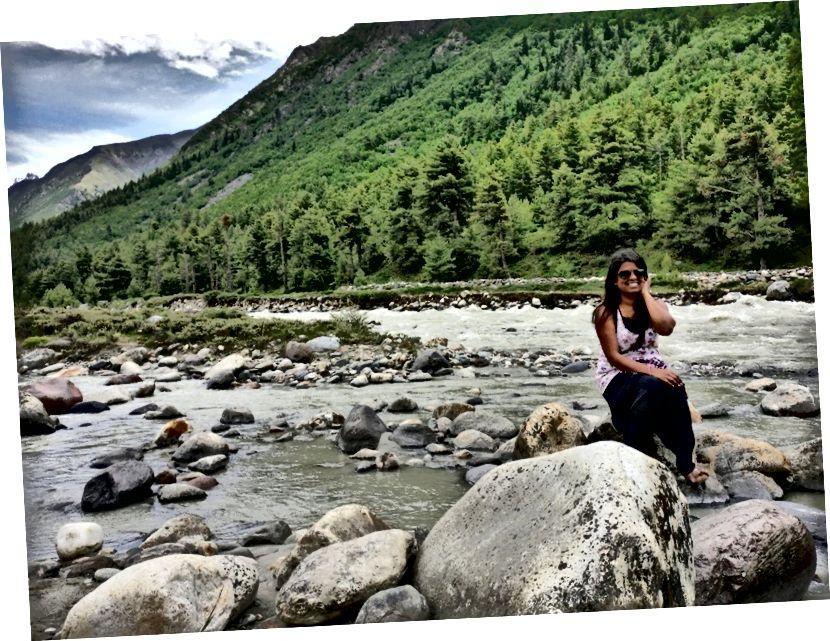 Pin Valley, Himaşal Pradeş'te bir yere tıkladı