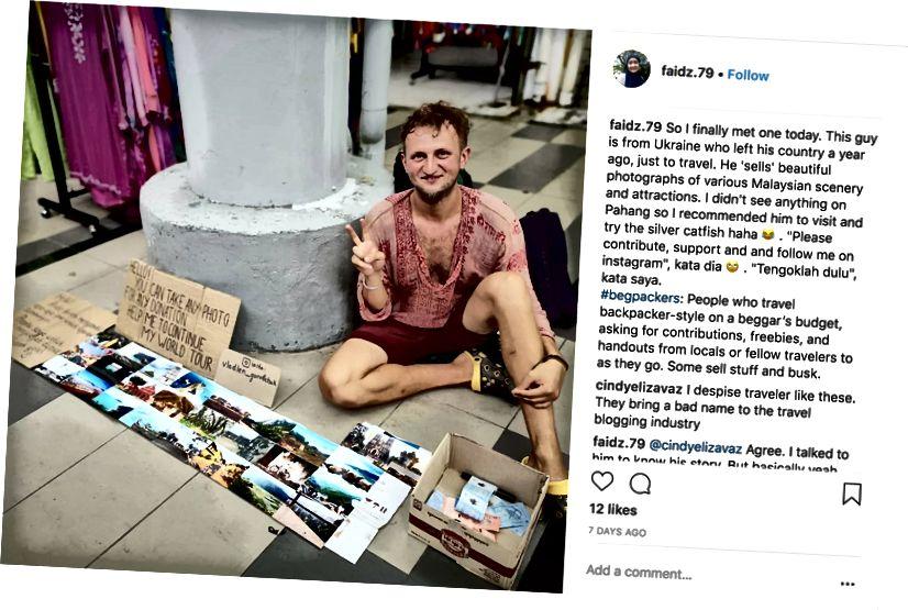Xin chào, bạn có thể chụp ảnh cho mọi đóng góp. Giúp tôi tiếp tục chuyến đi vòng quanh thế giới của tôi. Ảnh tín dụng: Faidz.79