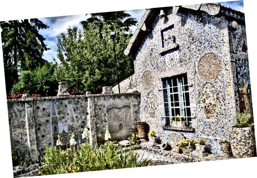 La Maison Picassiette, Chartres, Franciaország | Fotó: Christiane Jodl / Flickr