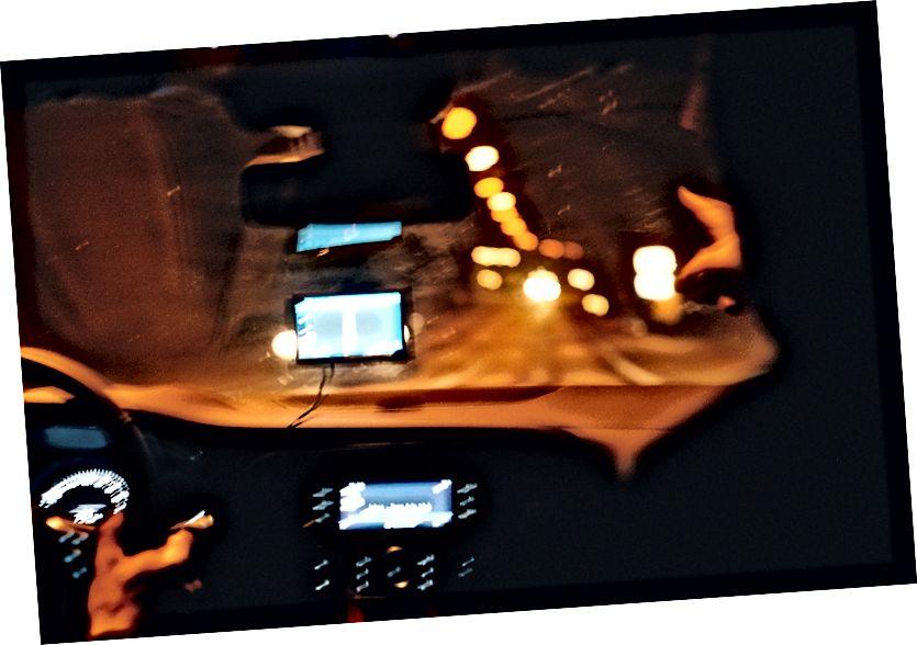 Die massive Aufregung mit dem Tunnel ist auf diesem Bild deutlich zu spüren. Kodak Portra 400